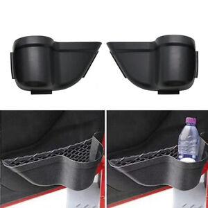 2pcs Door Cup Holder Storage Pockets Organizer for Jeep Wrangler JK 2011-2018