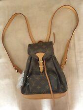 LV Mini Montsouris Backpack Handbag