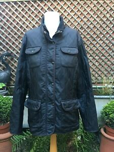 Barbour  UTILITY POLARQUILT black quilted ladies jacket size 16