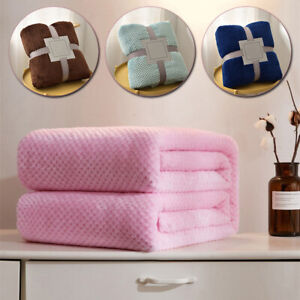 Soft Flannel Pet Fleece Pad Blanket Bed Mat For Puppy Dog Cat Sofa Cushion