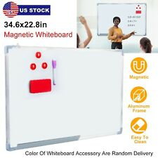 Magnetic Whiteboard Dry Erase White Board Wall Hanging Board 346 X 228
