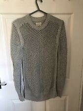 STUNNING & GENUINE ALL SAINTS HOLEY JUMPER SIZE X-SMALL