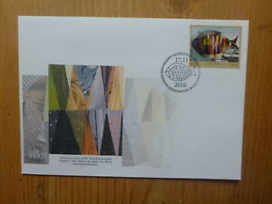 2016 ESTONIA ART BY VALVE JANOV FDC FIRST DAY COVER