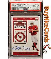 2019 Kyler Murray Panini Contenders Rookie Ticket RC SP Auto PSA 10 Gem Mint