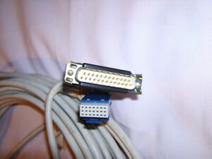 Modular cable for programming Ericsson landlines for fixed telephony