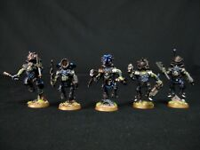 x5 Stormboyz Painted Warhammer 40k Orks COMMISSION SERVICE 32mm Bases