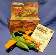 1981 MOTU Wind Raider Masters of the Universe He-Man Origins Box & Instructions