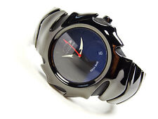 Oakley Blade Black Watch Uhr Minute Machine Time Bomb Hollow Point Tank GMT Icon