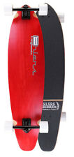 """Red Kicktail Longboard Skateboard 40"""" x 9.75"""" Complete"""