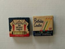 Vintage Birthday Candles Betty Bolling/Homestead