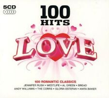 100 Hits Love 5-CD Box Set NEW SEALED Corrs/Bread/Cars/Simply Red/Chicago/O'Jays