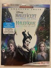 Maleficent 2 Mistress Of Evil Blu-Ray & DVD Slipcover Canada Bilingual NODC LOOK
