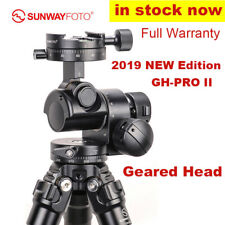 SunwayFoto GH-PRO II Gear Head Panoramic Tripod Head for DSLR Camera Photography