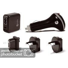 Macally USB Reise-Set Netzteile für Kfz + 110-230V 1000 mA mit 4 intern. Adapter