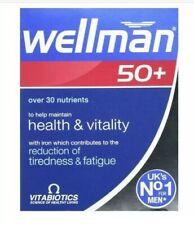 3x Vitabiotics Wellman Multi Vitamins Mineral for Men 50+ 30 Tablets