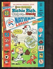 Richie Rich Casper and Wendy National League #1 Harvey Comics (7.0) WH