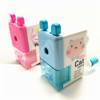 Cute Cartoon animals Print Hand Pencil Sharpener Praise Gifts Manual Pen Cutter