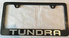Brand New Replacement Toyota Tundra License Plate Frame Pair of 2 In Black