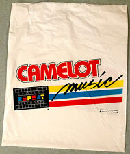 vintage CAMELOT MUSIC bag - rare - discontinued out of business laserdiscs LP