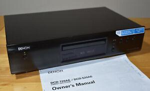 DENON DCD-520AE Compact Disc CD MP3 WMA Player Crystal Clear HQ Sound