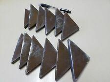 "Steel Welding Gusset, 3/8"" x 3"" x 3""  Lot of 12"