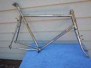 "21"" Vintage Mongoose ATB All Terrain BMX Products Mountain Bike Frameset Chome"