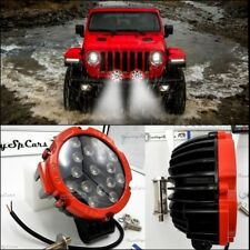 X2 Fari LED per auto FUORISTRADA supplementari faretti REGOLABILI Jeep OFF ROAD