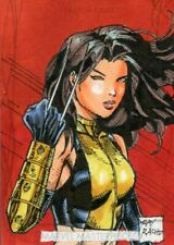 2020 Marvel Masterpieces Sketch Card By Ray Racho
