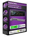 Toyota Yaris DAB radio, Pioneer car stereo CD USB AUX in player, Bluetooth kit