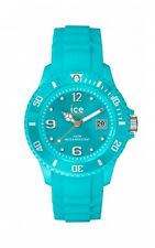 Ice Watch Uhr Unisex Silikon Türkis Datum 10 Bar Wasserdicht SI.TE.U.S.13
