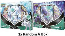 More details for pokemon tcg ice rider / shadow rider calyrex v box (chosen at random)
