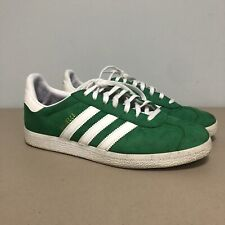 Adidas Gazelle BB5477 Green Suede US 7.5 Sneakers Shoes Three Stripes