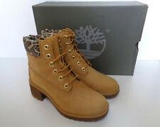 Timberland New Ladies 6 Inch Kinsley Heel Tan Memory Foam Boots RRP £145 Size 6