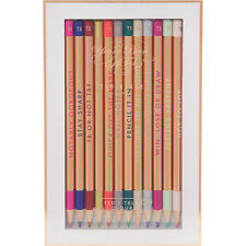 TED BAKER LONDON SET OF 12 COLOURING PENCILS TED'S TRUE COLOURS RRP £17.00