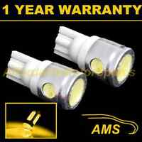 2X W5W T10 501 XENON AMBER 3 LED SMD SIDELIGHT SIDE LIGHT BULBS HID SL101105