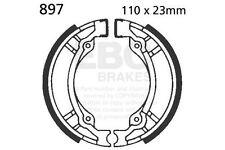FIT SUZUKI UG 110 W/SW/Y/SY/SK1 Hokuto/Address 98>02 EBC Plain Shoe Rear Left