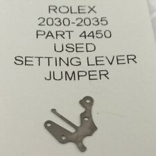 ROLEX CAL 2030-2035 PART 4450 setting lever jumper USED