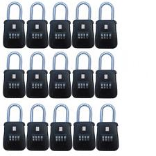 15pcs 4 Dial Metal Key Lock Box Safe Vault Door Hanger for Realtor Real Estate