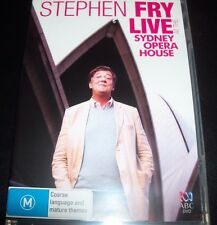Stephen Fry Live Sydney Opera House (Australia Region 4) DVD – Like New