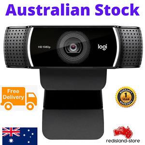 Logitech C922 Pro Stream Webcam 1080P stereo Mic + Tripod - Free Postage