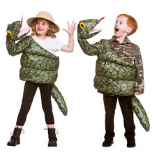 Serpent Costume Déguisement Enfants Animal Garçons Reptile Costume Halloween