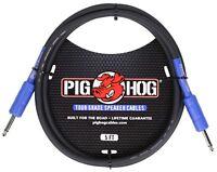 Pig Hog High Performance 9.2 MM Speaker Cable 5'  1/4'  14 Gauge Wire  PHSC5