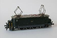 Metropolitan Ae 3/6 I, Messingmodell, finescale, Originalkarton