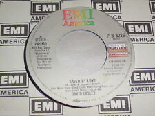 """7"""" - David Lasley / Saved by love & Saved by love - US PROMO MINT # 0606"""