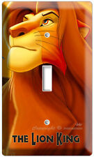 NEW LION KING ADULT SIMBA DISNEY'S 3D MOVIE SINGLE LIGHT SWITCH WALL PLATE COVER