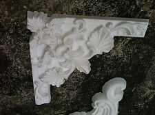 Corner Wall Rose Architectural French Ornate Decoration Plaster  #8