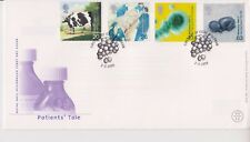 UNADDRESSED GB ROYAL MAIL FDC COVER 1999 PATIENTS' TALE STAMP SET OLDHAM PMK