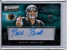 2014 Playbook Auto RC BLAKE BORTLES /75 First Round Edition Autograph Jaguars