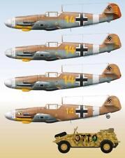 Lifelike 1/32 decal Messerschmitt Me 109 Pt 2 Tamiya Hasegawa Trumpeter