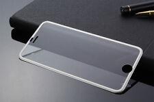 3d Full Cover Schutzfolie Alu Rahmen Handy Panzerglas 9h iPhone 7 plus Silber